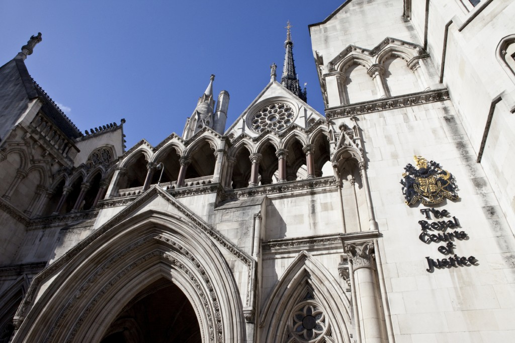 Issues of Jurisdiction often end up before the Royal Courts of Justice